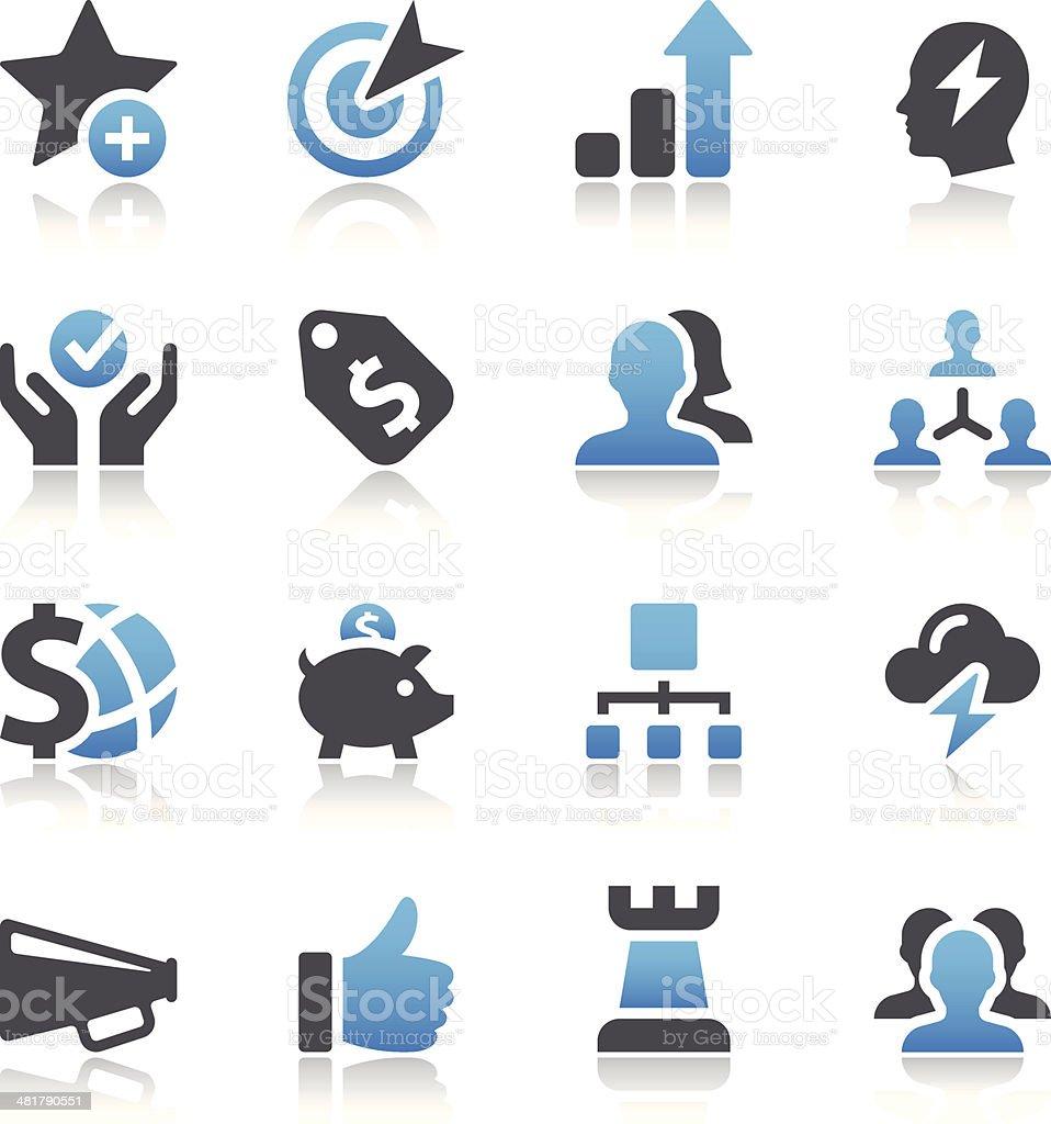 Web Icons vector art illustration