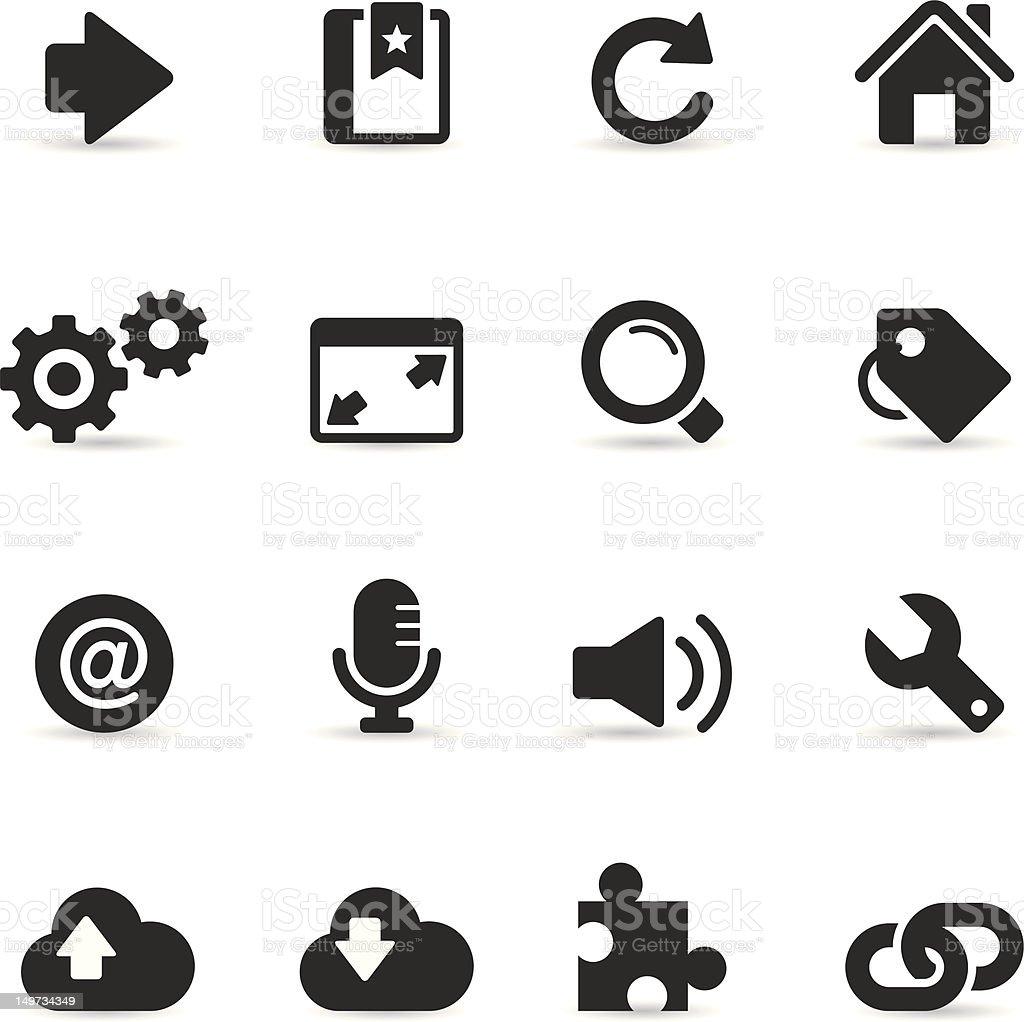 Web Internet Icon royalty-free stock vector art
