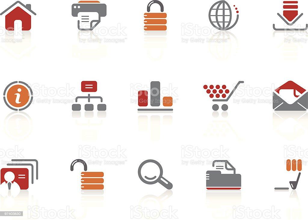 Web & Internet icons   Alto series royalty-free stock vector art