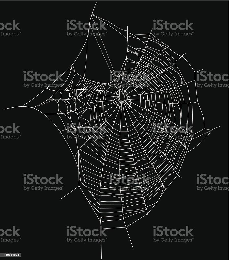 web vector art illustration