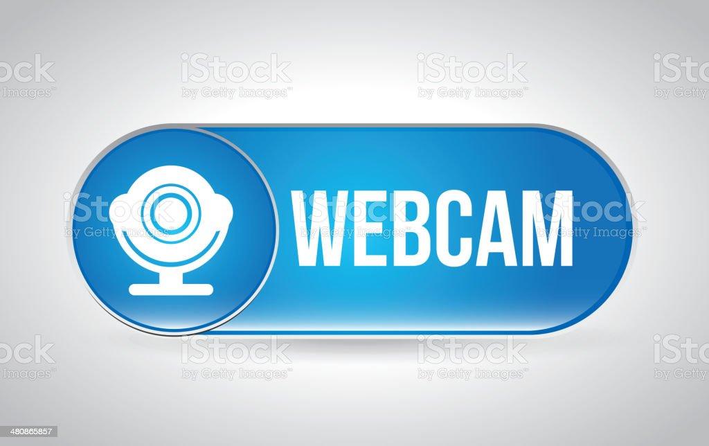 Webcam Design vector art illustration