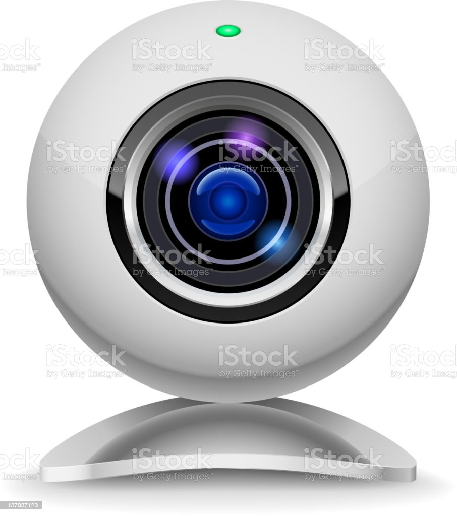 Webcam royalty-free stock vector art