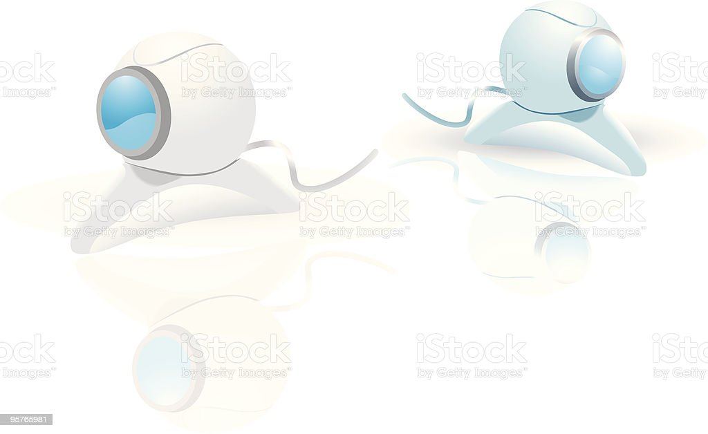 webcam royalty-free stock vector art