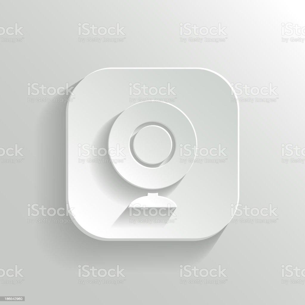 Webcamera icon royalty-free stock vector art
