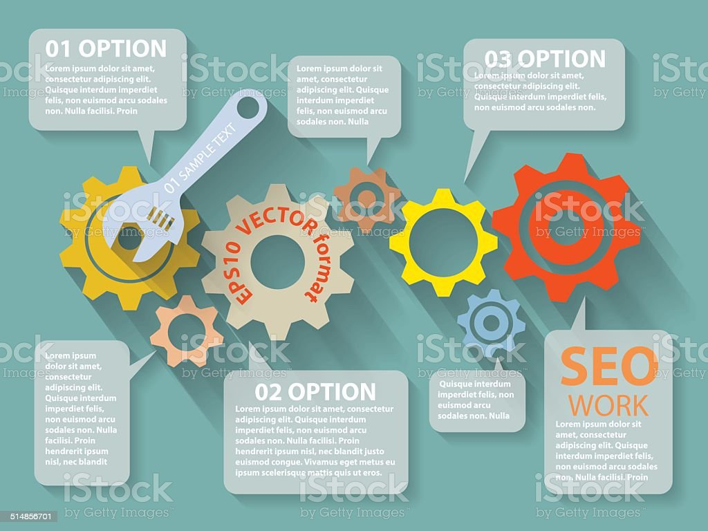 website analytics search information concept royalty-free stock vector art