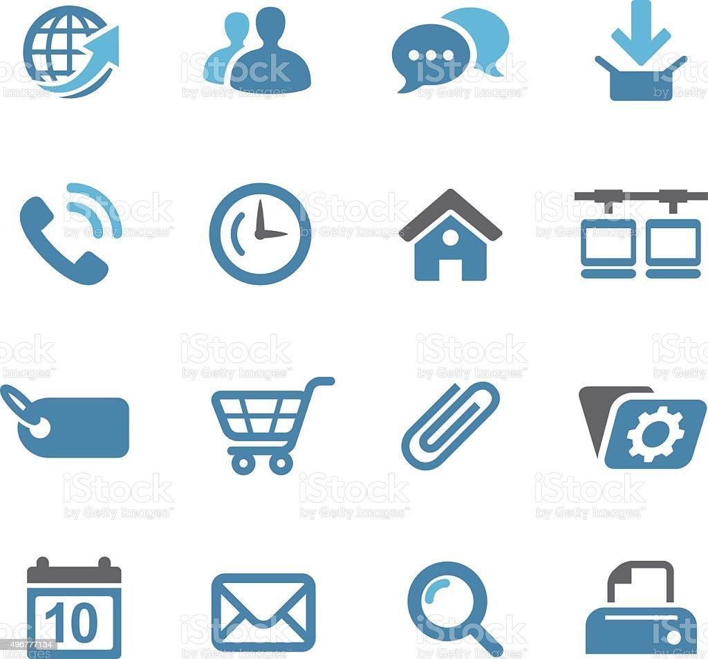 Website Icon - Conc Series vector art illustration
