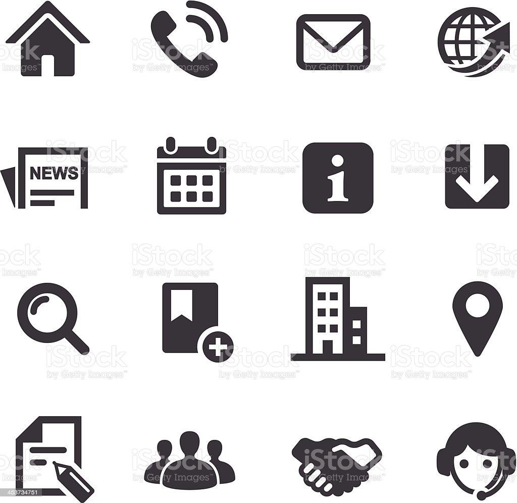 Website Icons - Acme Series vector art illustration