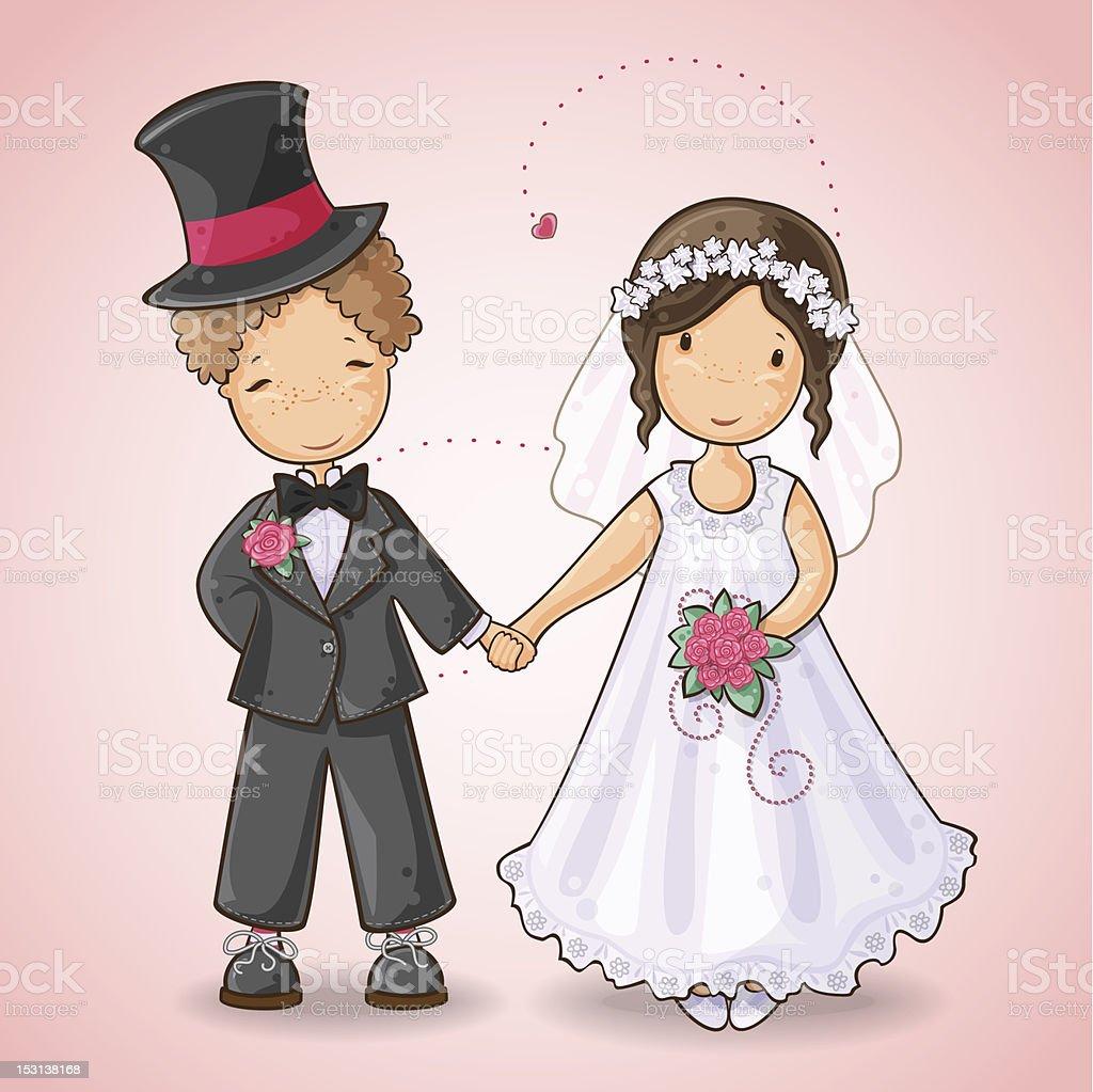 Жених и невеста открытка 77