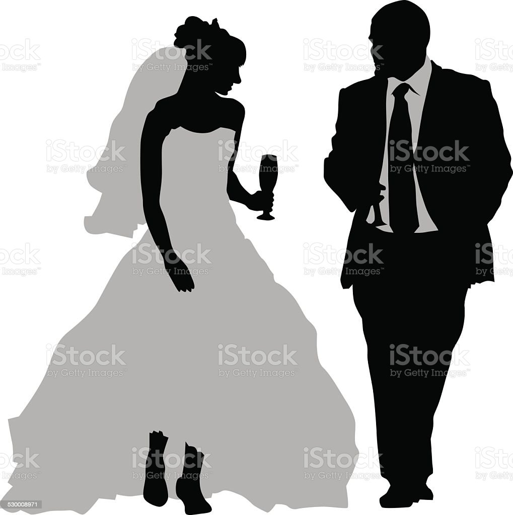ウェディングカップル のイラスト素材 530008971 | istock