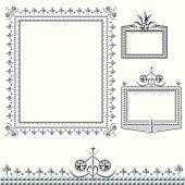 wedding diamond frame