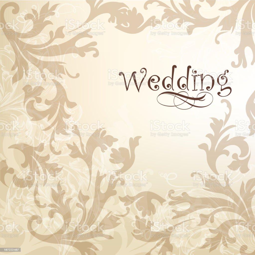 Wedding elegant  background for design royalty-free stock vector art
