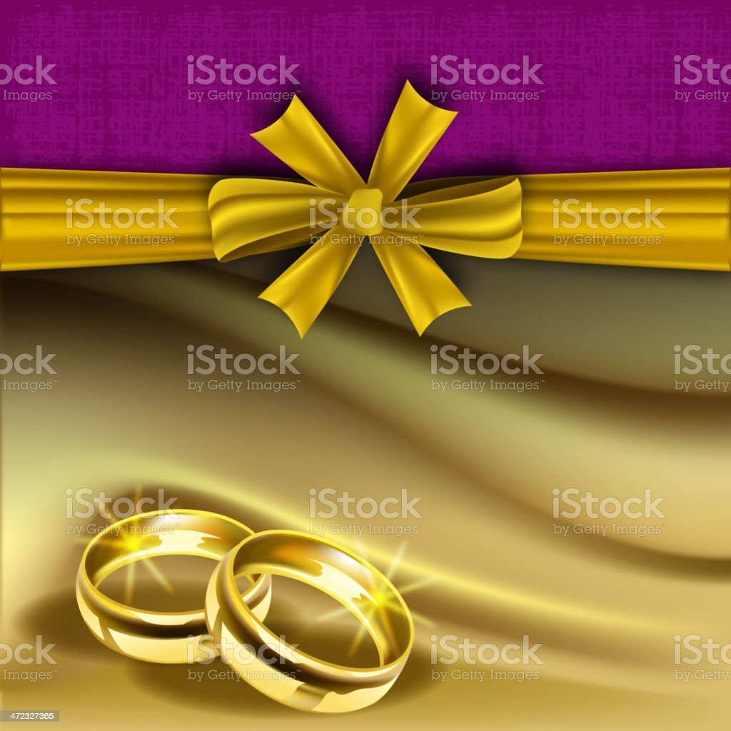 Wedding Invitation Card royalty-free stock vector art