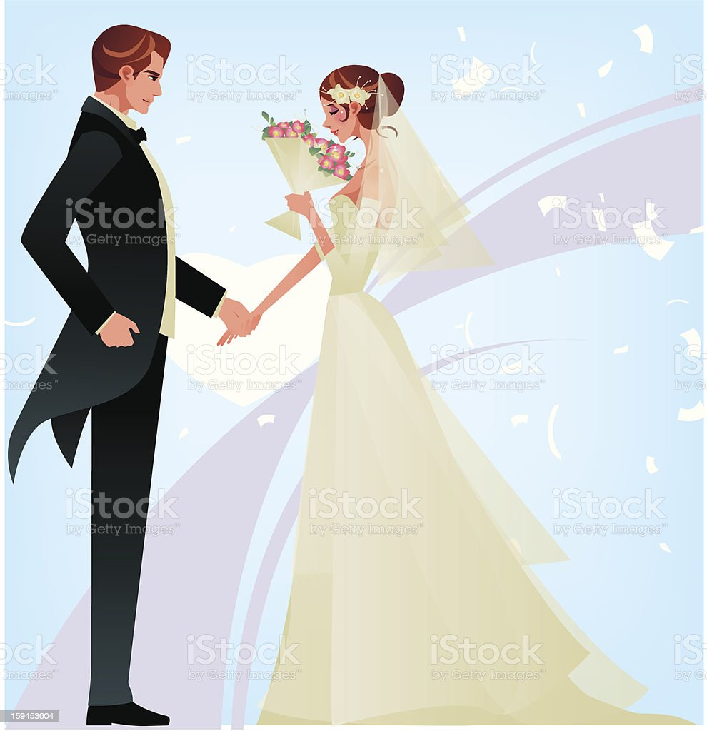 Wedding Reception, royalty-free stock vector art
