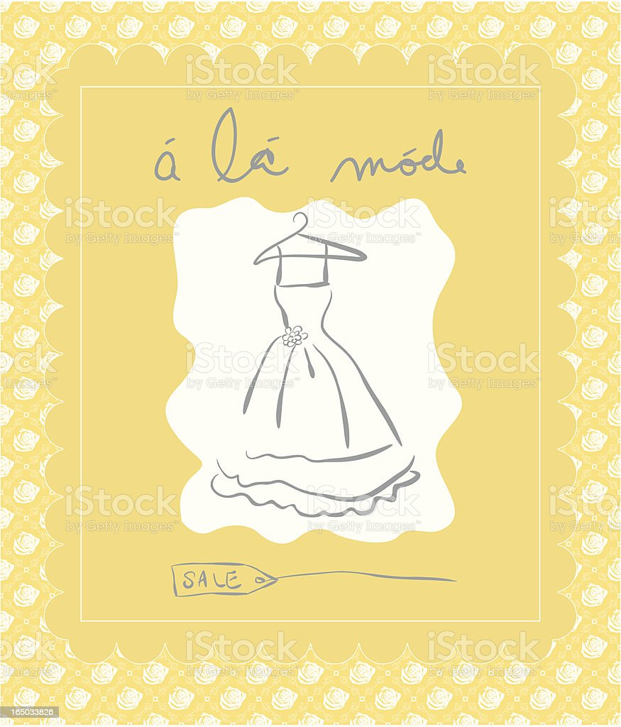 Wedding Sale ( Vector ) royalty-free stock vector art