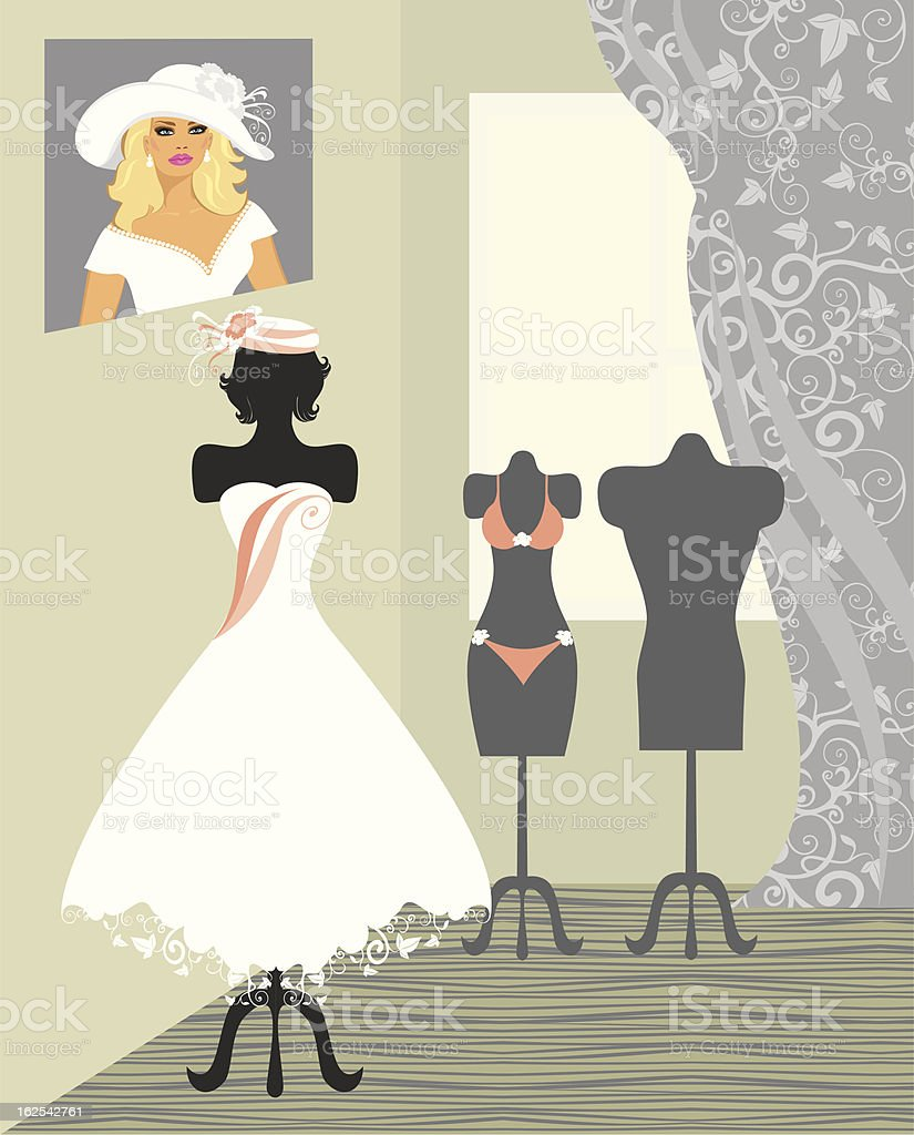 wedding salon royalty-free stock vector art