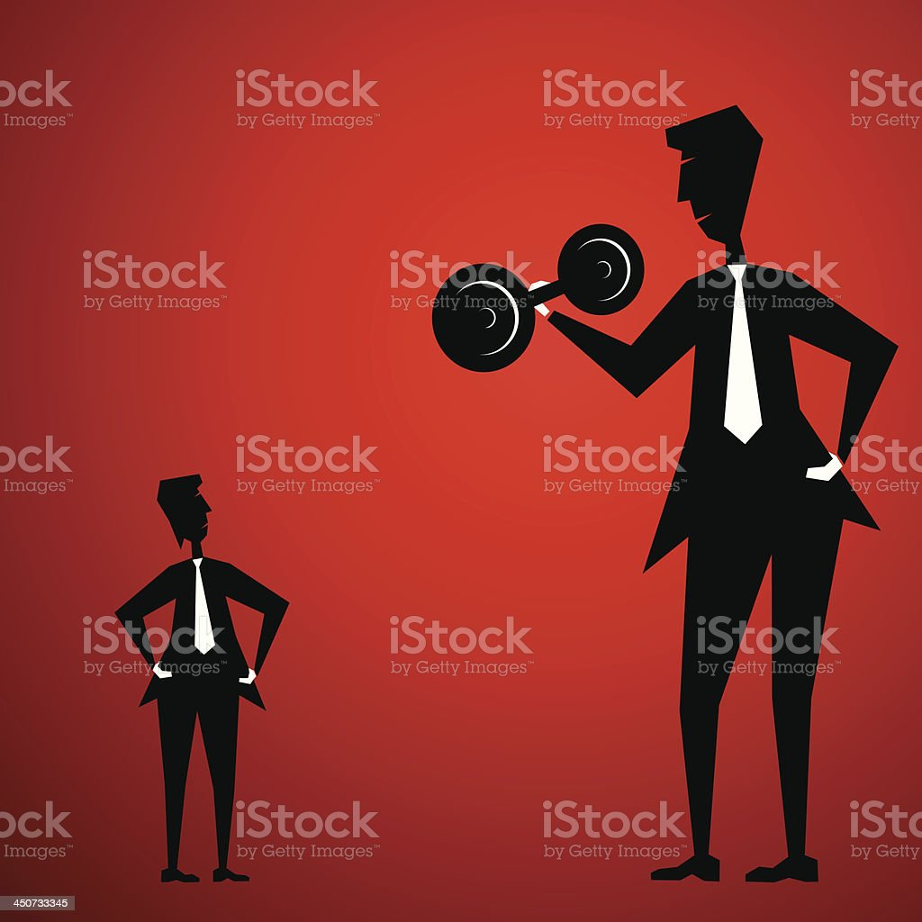 weight lifting royalty-free stock vector art