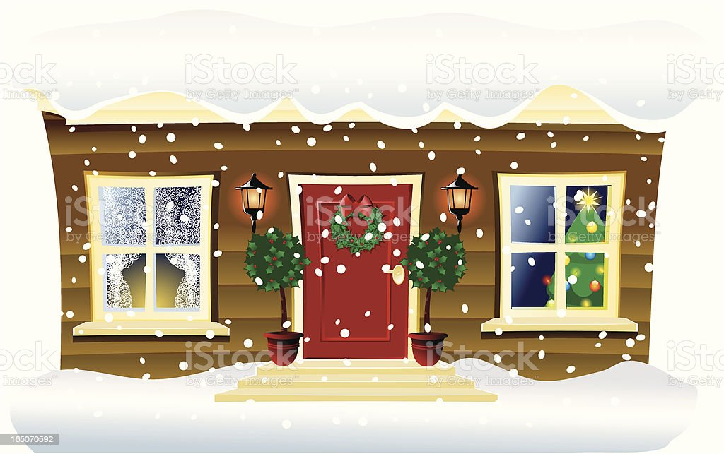 Welcome Christmas! royalty-free stock vector art