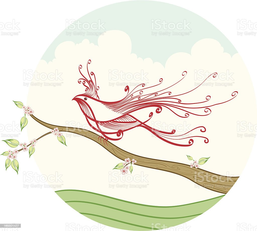 Welcome to Spring royalty-free stock vector art