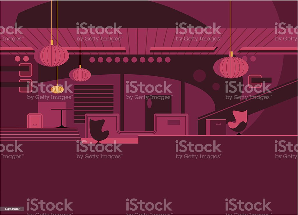 Welcome to your Nightclub vector art illustration