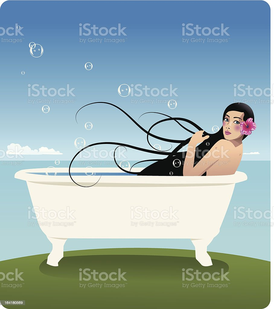 well-being royalty-free stock vector art