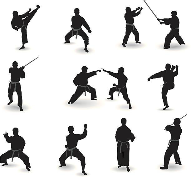 Kickboxing Clip Art, Vector Images & Illustrations - iStock