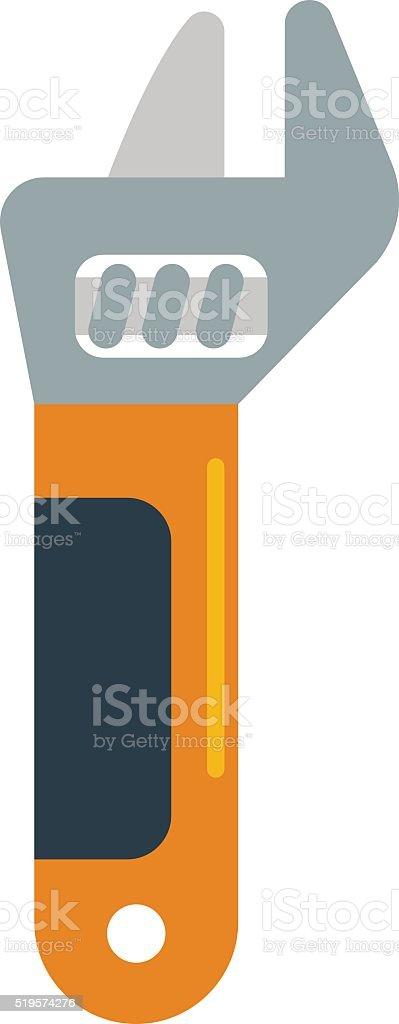 Wench tool vector illustration vector art illustration