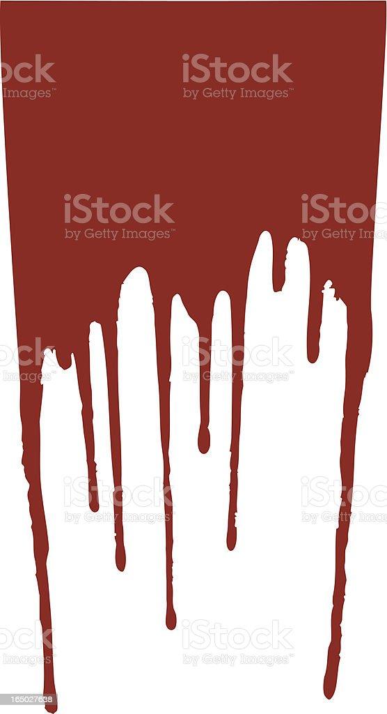Wet paint royalty-free stock vector art