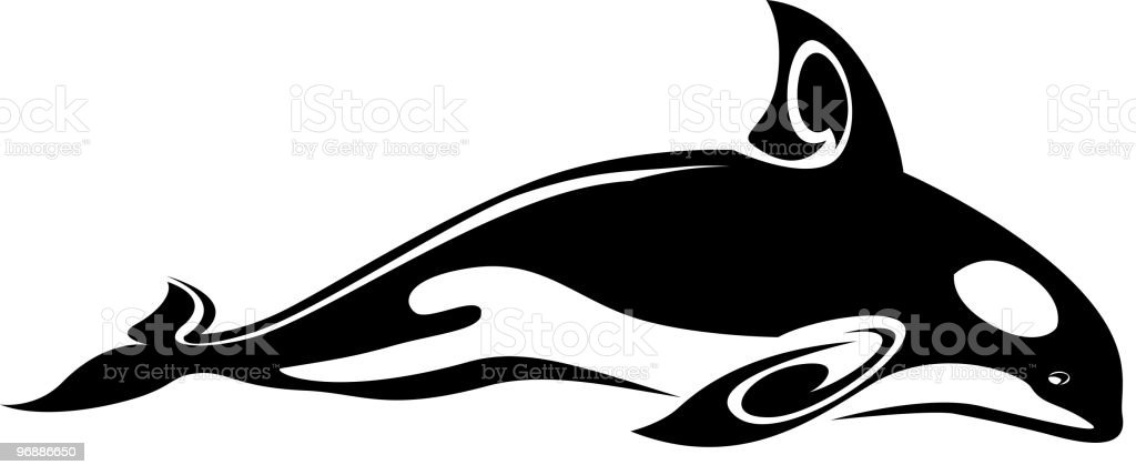 Whale royalty-free stock vector art