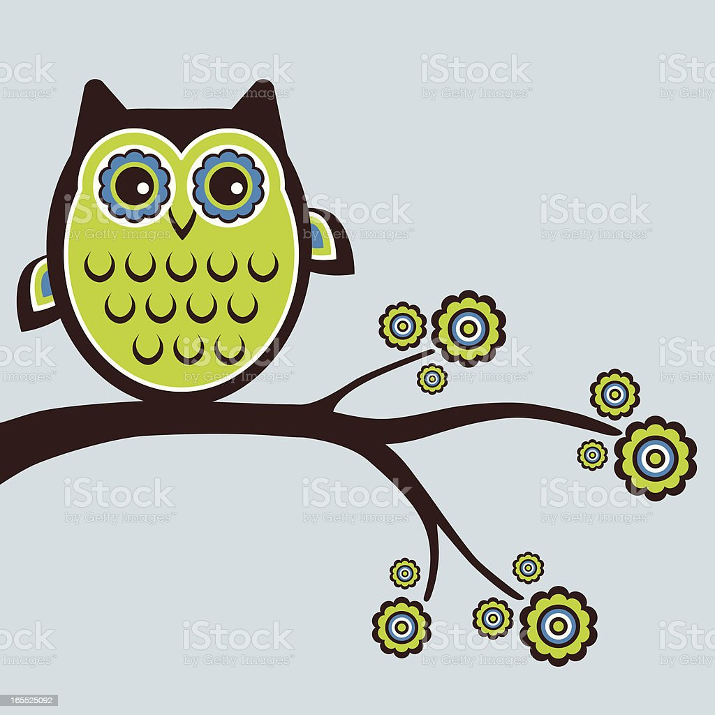 What a hoot! royalty-free stock vector art