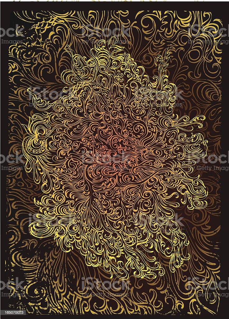 Was ist Ihre Seele aussehen? Lizenzfreies vektor illustration