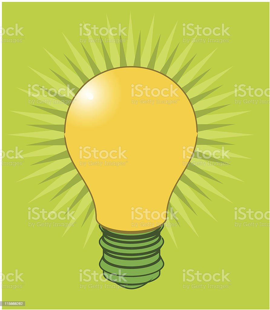 What's the big idea? (vector & jpg) royalty-free stock vector art