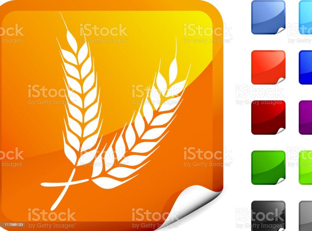 wheat grains internet royalty free vector art royalty-free stock vector art