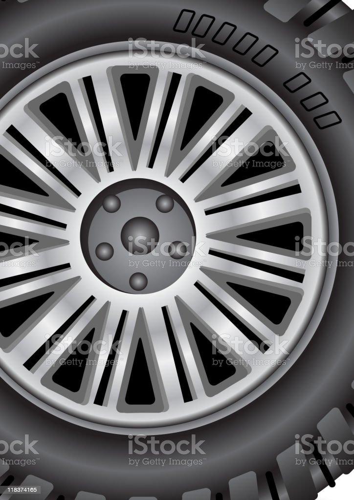 Wheel royalty-free stock vector art