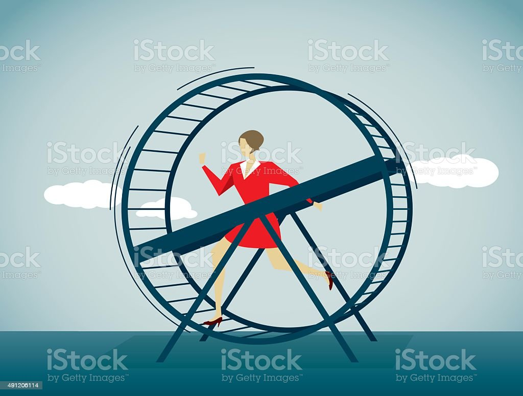 Wheel vector art illustration