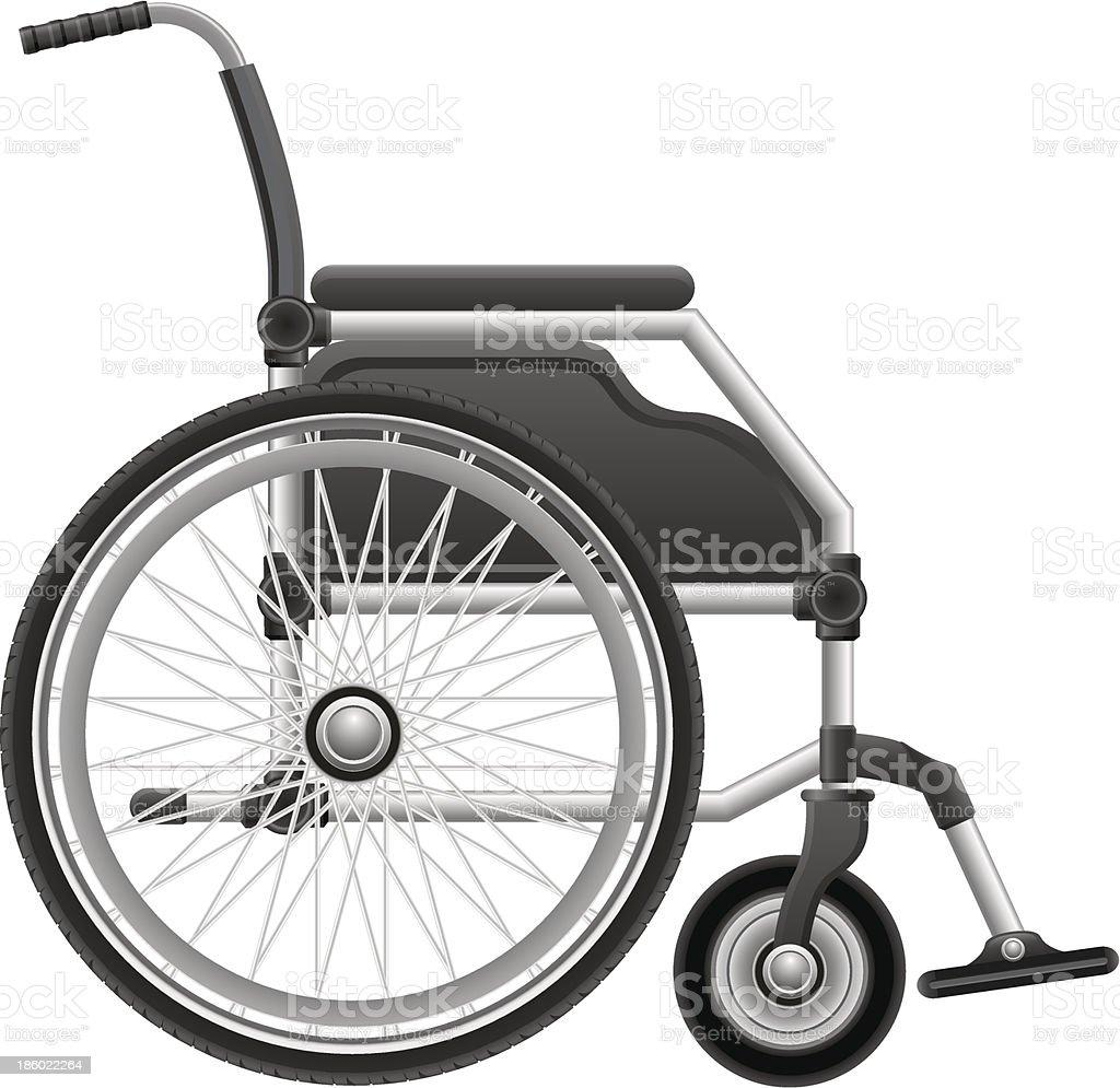 wheelchair vector illustration royalty-free stock vector art