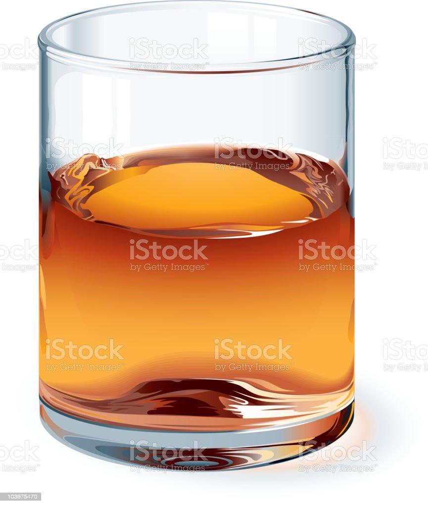 Whiskey royalty-free stock vector art