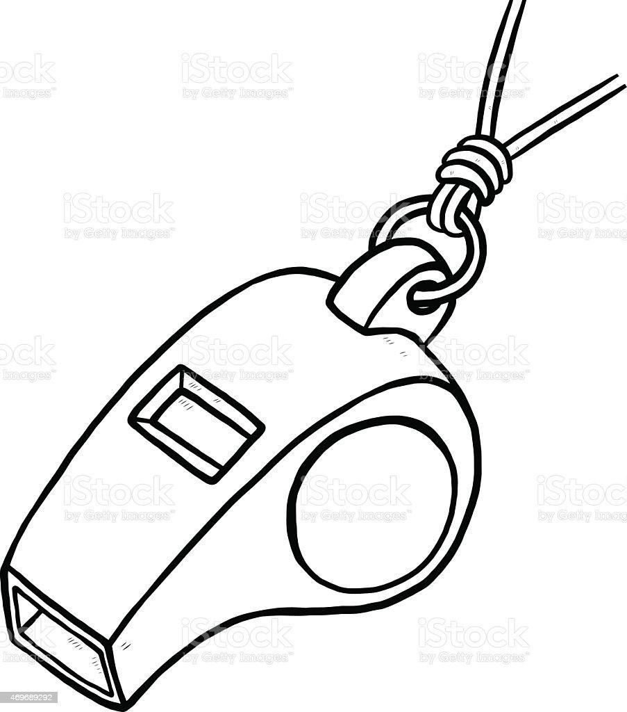 Whistle stock vector art 469689292   iStock