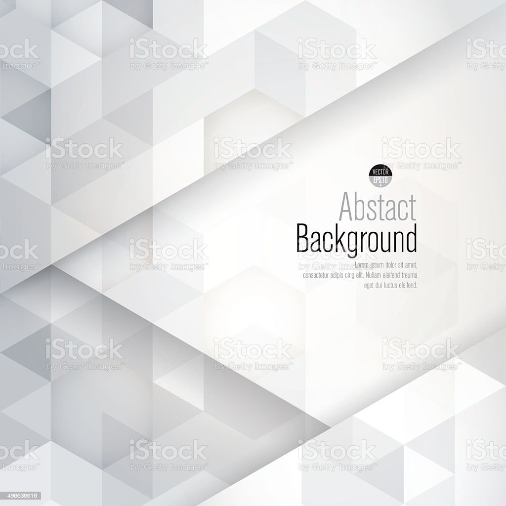White and gray abstract background vector. vector art illustration