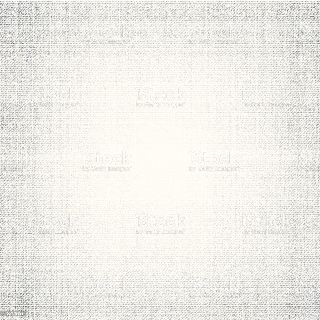 White canvas vector art illustration
