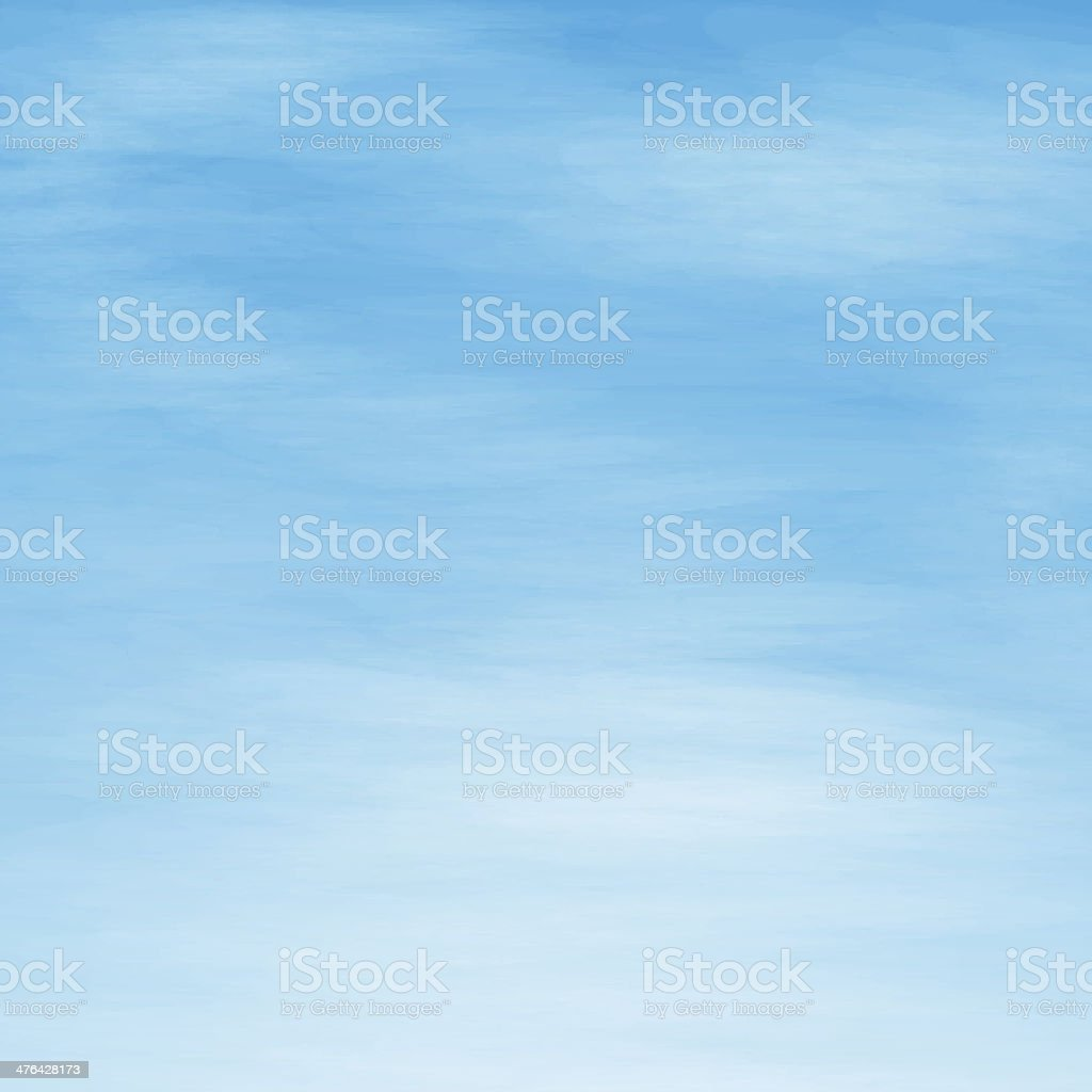 white clouds vector art illustration
