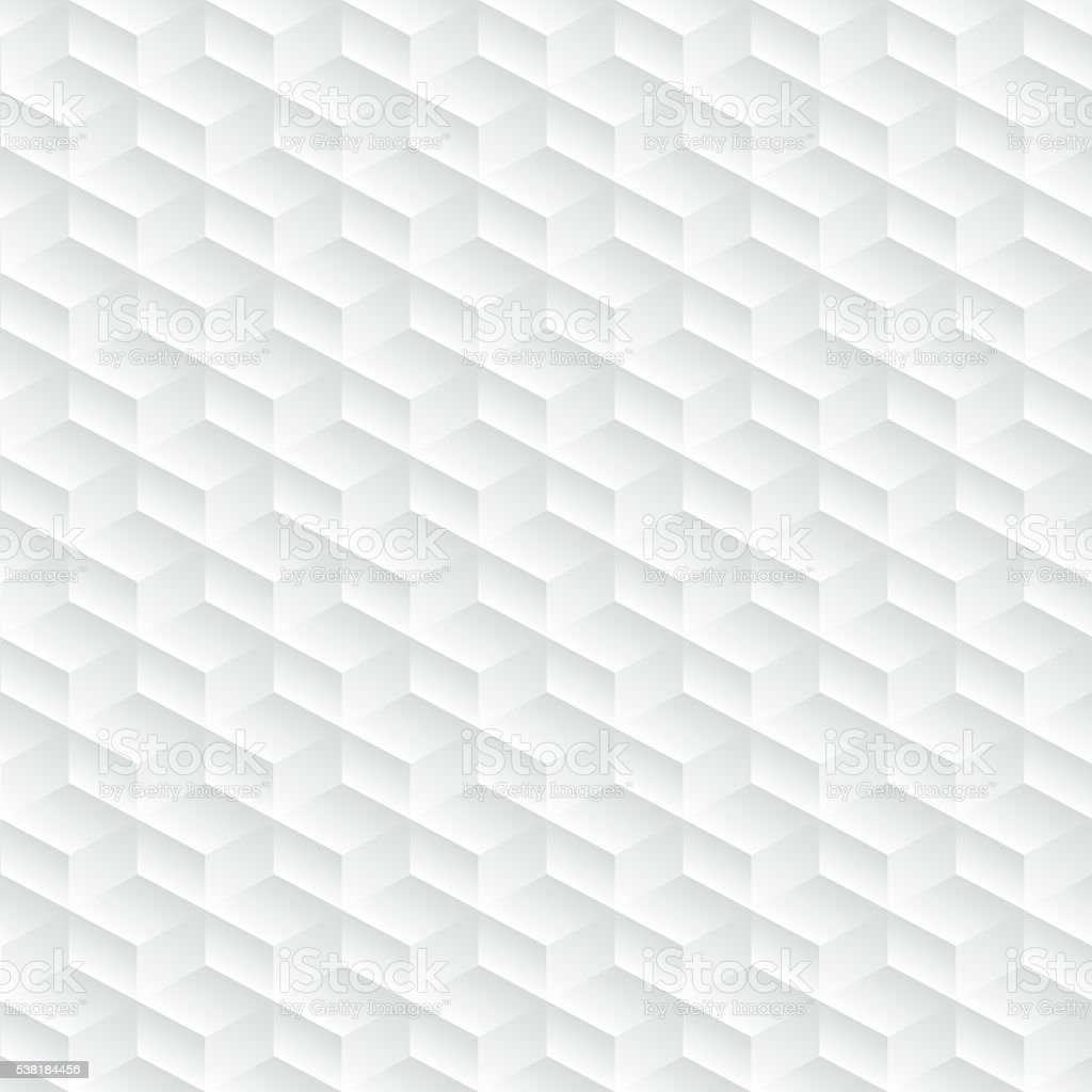 White diagonal embossed abstract seamless pattern vector art illustration