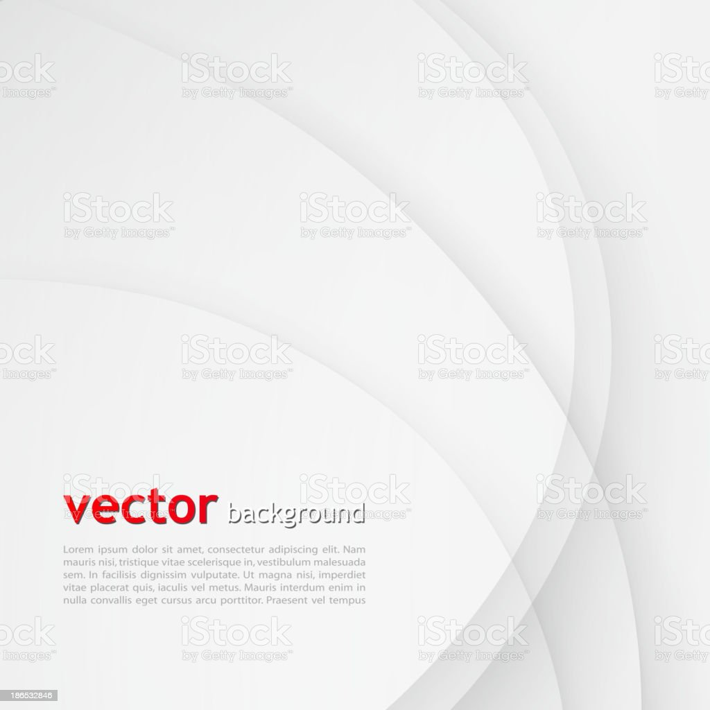 White elegant business background. vector art illustration