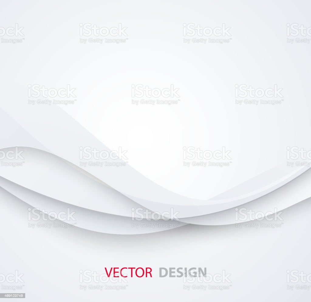 White elegant business background vector art illustration