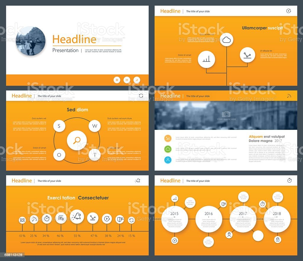 White elements of infographics for minimalist design royalty-free stock vector art