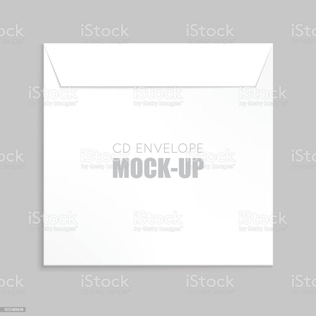 White envelope vector illustration vector art illustration