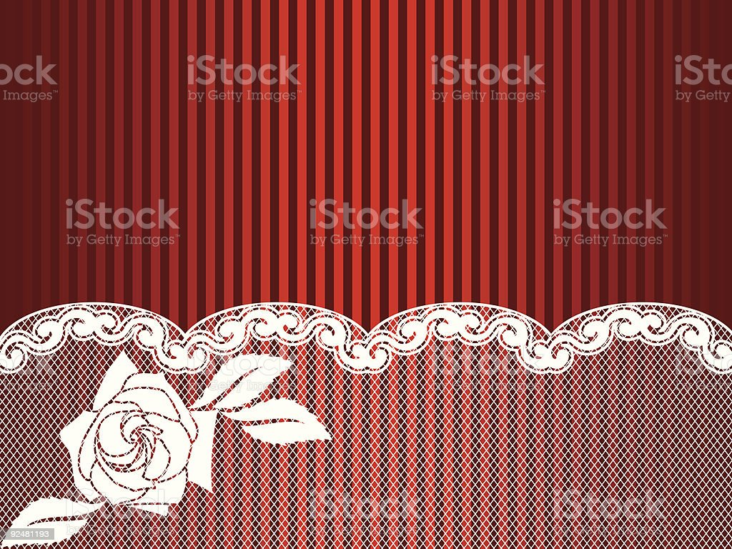 White French lace background royalty-free stock vector art