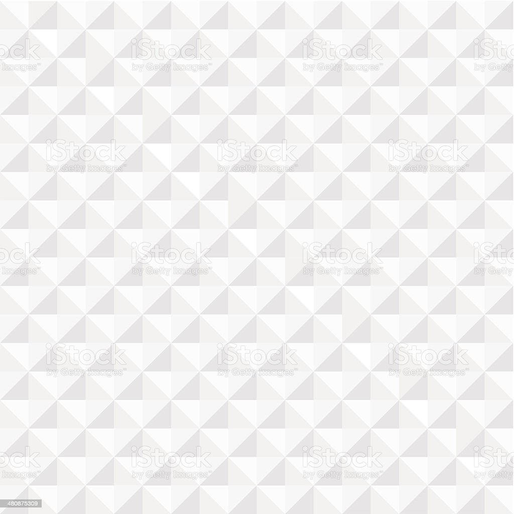 White geometric seamless background vector art illustration