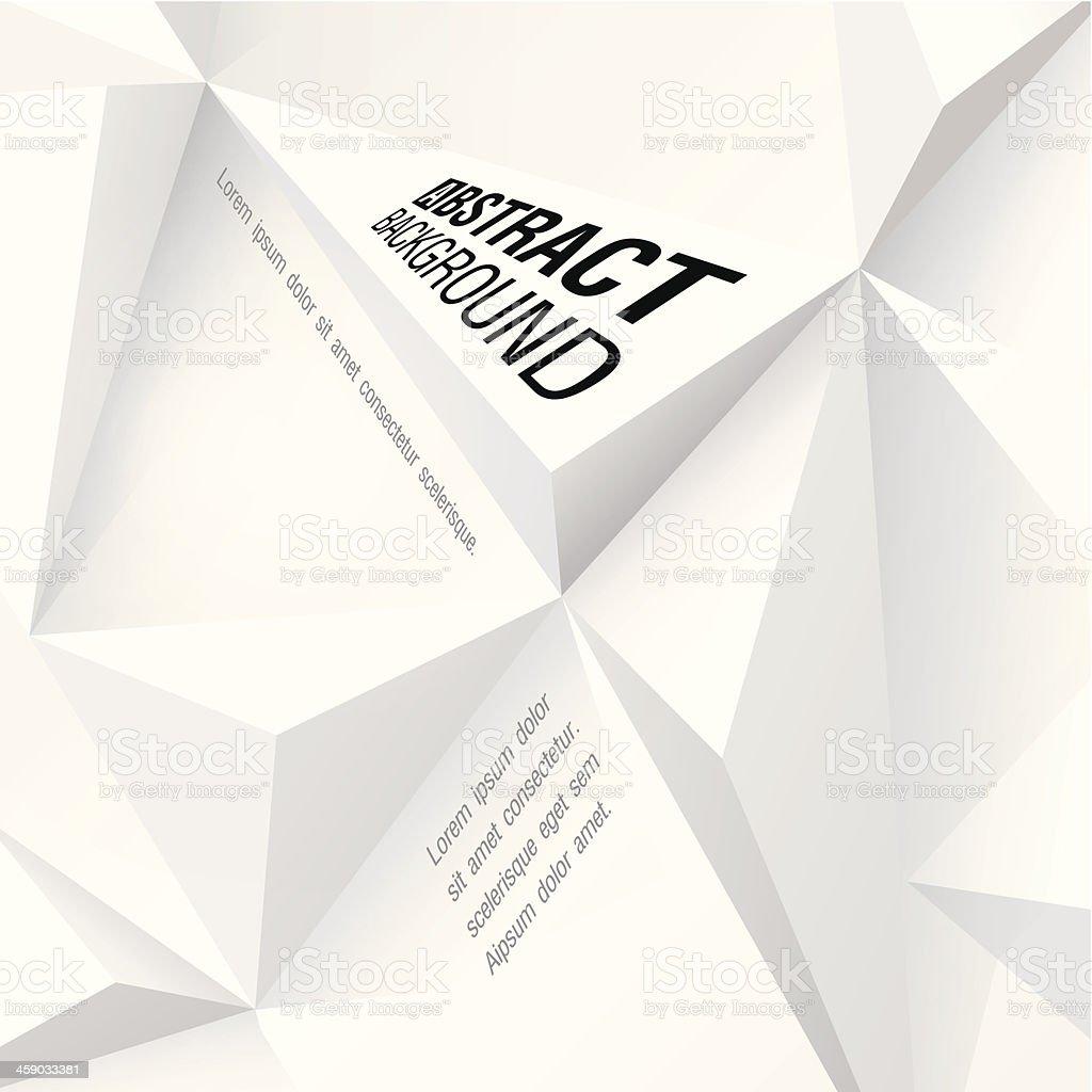 White geometric vector background. vector art illustration