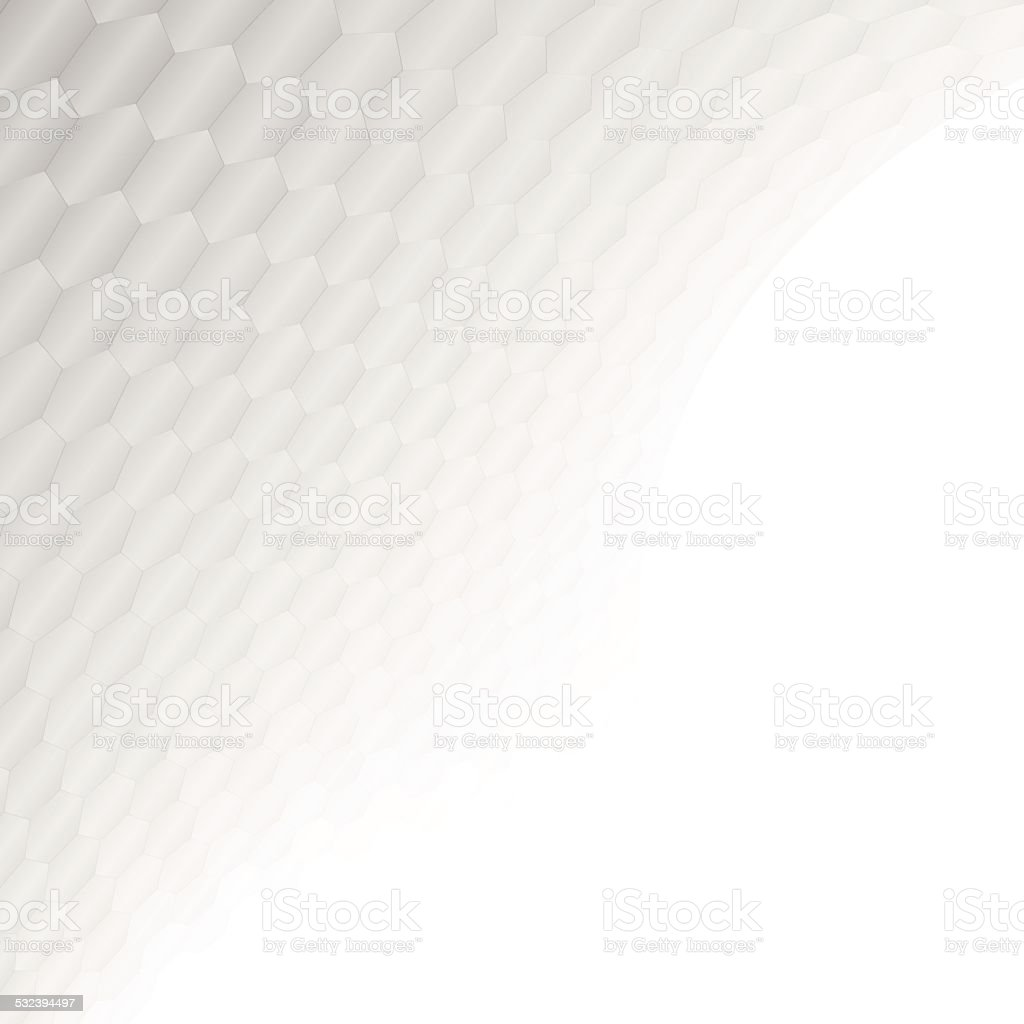 White & grey abstract perspective background vector art illustration