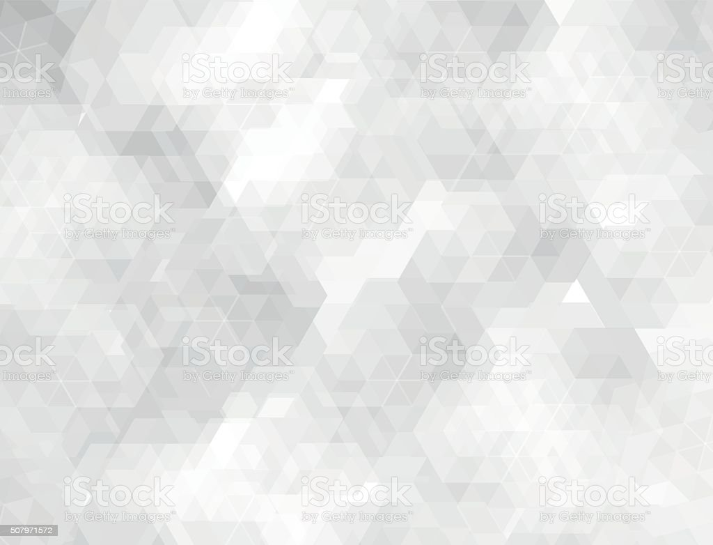 White & grey geometric shapes background vector art illustration